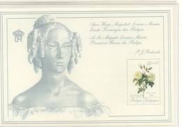 PIA - BEL - 1989 -  Promozione Della Filatelia. Rose Dipinte Dal Botanico P.J.Redouté  - (Yv Bf 65) - Roses