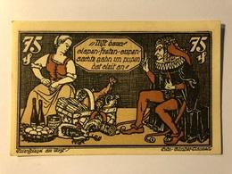 Allemagne Notgeld Braunschweig 75 Pfennig - Collections