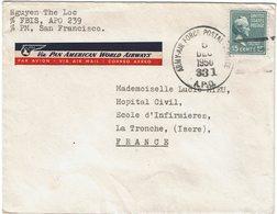 CTN54C- USA LETTRE DE L'ARMY AIR FORCE POSTAL SERVICE 5/12/1950 APO 239 - Covers & Documents