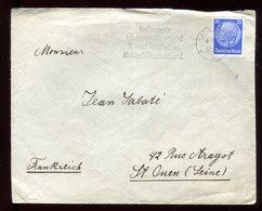 Allemagne - Enveloppe De Mainz Pour La France En 1936 - N104 - Briefe U. Dokumente