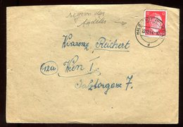 Allemagne - Enveloppe De Haldstadt Pour Wioen En 1944 - N107 - Briefe U. Dokumente