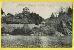 * Bouillon (Luxembourg - La Wallonie) * (Edition E. Marlier) La Roche Des Fées Et La Crête Saint Pierre, Canal, Quai - Bouillon