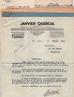 VP13.362 - PARIS 1941 - Lettre De M. QUERCIA Orfèvre Relative à L'Estampille Des Briquets + Réponse De La Sté S.A.T.A.S - Documents