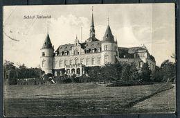 "CPSM S/w  AK German Empires,DR Ralswick Auf Rügen 1925 ""Schloß Ralswiek""1 AK Used - Castles"
