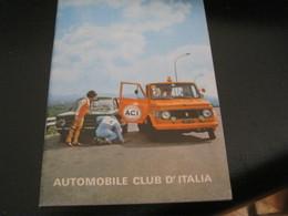 LIBRETTO AUTOMOBILE CLUB D'ITALIA - Voitures