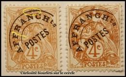 1924  France Préo Yt:FR PR40, Mi:FR 89V - Type Blanc  2 Teintes Et 2 Bourlets Neufs Recto Verso - Préoblitérés
