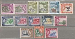 PITCAIRN ISLANDS 1957  Shades Mi 20-30 SG 18-28 MNH (**) #23443 - Stamps