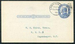 1911 USA Black River National Bank Of Lowville, NY Stationery Postcard - Copenhagen, New York - United States
