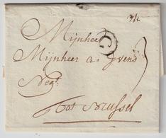 "1776, "" G "" Claire , Gand, #a1311 - 1714-1794 (Austrian Netherlands)"