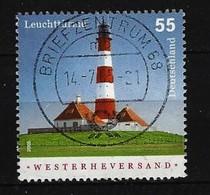 BUND - Mi-Nr. 2474 Leuchtturm Westerheversand Gestempelt Briefzentrum 68 - Gebraucht