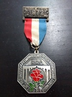 1 Int. Freundschaftswanderung In Der Rosenstadt Luxembourg 1972 - Tokens & Medals