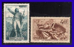 1936 - Francia - Sc. 309 - 310 - MNH - FR- 120 - Nuevos