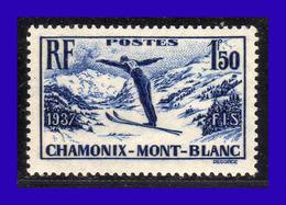 1937 - Francia - Sc. 322 - MNH - FR- 121 - Nuevos