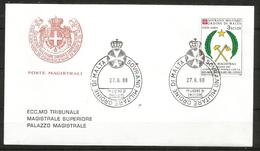 1988 ORDINE DI MALTA SMOM Congo PA FDC  Viaggiata Bellissima - Malte (Ordre De)
