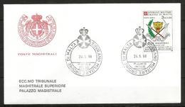1988 ORDINE DI MALTA SMOM  Zaire  PA FDC  Viaggiata Bellissima - Malte (Ordre De)
