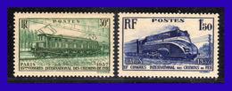 1937 - Francia - Sc. 327 - 328 - MNH - FR- 123 - Nuevos