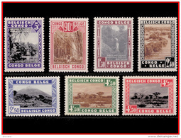 Congo 0196A/02*  Parcs Nationaux -H - - 1923-44: Neufs