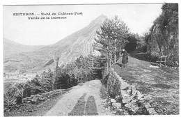 04 ALPES Hte PROVENCE Vallée De La Durance Au Nord Du Chateau Fort De SISTERON - Sisteron