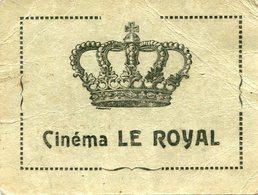 CINEMA - Tickets D'entrée