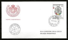1989 ORDINE DI MALTA SMOM  Guinea PA  FDC  Viaggiata Bellissima - Malte (Ordre De)