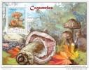 GUINEA BISSAU 2014 ** S/S Mushrooms Pilze Champignons Cogumelos A1445 - Mushrooms