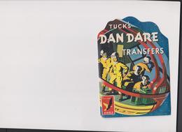 DECALCOMANIES AMERICAINES TUCK'S DAN DARE TRANSFERS CARNET DE 25 DECALCOMANIES - Vieux Papiers