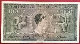 Luxembourg - Billet De Banque - 100 Francs 1956 BIL - Luxemburgo