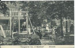 Abcoude,tuingezicht Van 't Meerhuis Gelopen Kaart 1913 - Pays-Bas