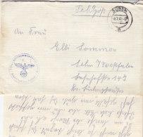 Feldpost Von Fliegerhorst Kp. Aus GUBEN 8.7.41 Nach Selm / Westf. Mit Inhalt - Deutschland