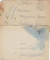Feldpost Von Der Nr.27262-Gren.Rgt. 77 7.11.+4.12.44 Einsatz In Der Eifel / Schlechter Erhalt - Deutschland