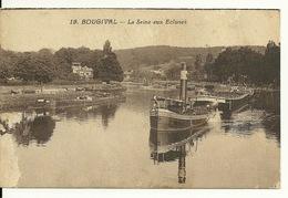 78 - BOUGIVAL / LA SEINE AUX ECLUSES - PENICHE TIREE PAR UN REMORQUEUR - Bougival