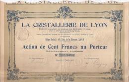La Cristallerie De Lyon - Actions & Titres