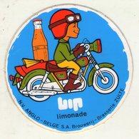 AUTOCOLLANT . STICKER . ZULTE .  LIMONADE  BIP . BROUWERIJ - BRASSERIE .  MOTARD - Stickers