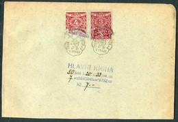 1930s Czechoslovakia Revenues Fiscals 5 X Documents. - Czechoslovakia