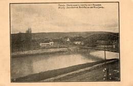 Serbie.  CPA.  NISCH.  Die Eiserne Brücke An Der Nischawa. 1918. - Serbia