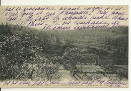 95 - RHUS / LA VALLEE DE SAUSSERON - VUE PRISE DU HAMEAU - France