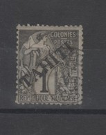 Tahiti_  1c Surchargé N°7   (1893 ) - Tahiti