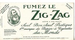Buvard Papier à Cigarettes ZIG-ZAG / BRAUNSTEIN PARIS - Tabac & Cigarettes