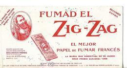 Buvard Papier à Cigarettes FUMAD EL ZIG-ZAG / BRAUNSTEIN PARIS - Tobacco