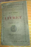 [ LOIRE, SAINT-ETIENNE ] LIVRET De FAMILLE, Année 1932 : RARE ! - Non Classés