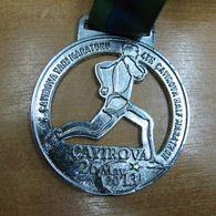 AC - 4th CAYIROVA HALF MARATHON 26 MAY 2013 MEDALLION - MEDAL - Athlétisme