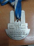 AC - ERZURUM HALF MARATHON & 10 K 24 MAY 2015 MEDALLION - MEDAL - Athlétisme
