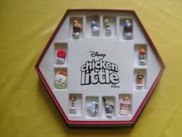 Coffret Serie Complète De 12 Feves Disney Chicken Little - Disney