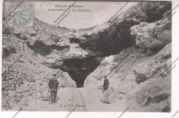 Belle CPA DARVAULT (77) Environs De Nemours - Les Carrières (expédiée à Mme SINGER à Paris) - Mines