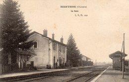 Marthon-la Gare-très Bon état - Autres Communes