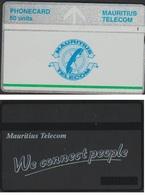 ILE MAURICEE TELECARTE PREPAYEE L&G  50 U MAURITIUS TELECOM 605A MAU45 - Mauritius
