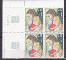N°1958 400ème Anniversaire De La Naissance De P.P. Rubens : Beau Bloc De 4 Timbres Neuf Impeccable - Francia