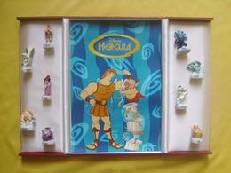Coffret Triptyque Luxe Serie Complète De 9 Feves Disney Hercule - Disney