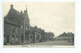 Koekelare Markt Plaats Met Gemeentehuis ( Gelopen ) - Koekelare