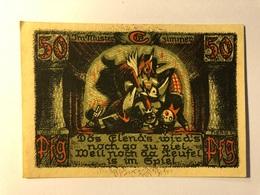 Allemagne Notgeld Sonneberg 50 Pfennig - 1918-1933: Weimarer Republik